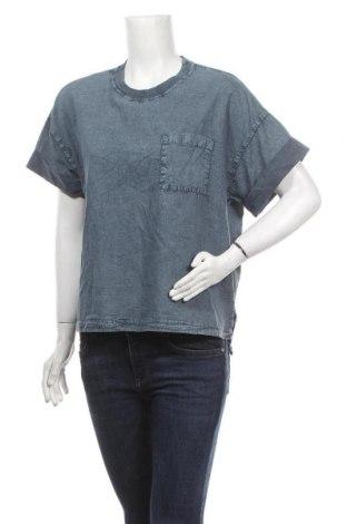 Дамска тениска Urban Outfitters, Размер S, Цвят Син, Памук, Цена 36,75лв.