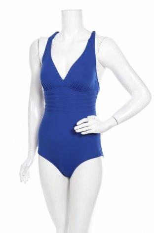 Costum de baie de damă Lascana, Mărime M, Culoare Albastru, 84% poliamidă, 16% elastan, Preț 131,64 Lei