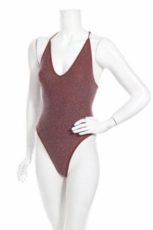Costum de baie de damă Urban Outfitters, Mărime M, Culoare Argintiu, 87% poliamidă, 7% fire din metal, 6% elastan, Preț 170,23 Lei