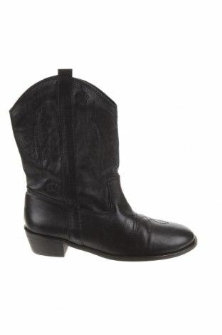 Dámské boty  Zara, Velikost 38, Barva Černá, Pravá kůže, Cena  441,00Kč