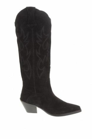 Dámské boty  Zara, Velikost 36, Barva Černá, Přírodní velur , Cena  1427,00Kč