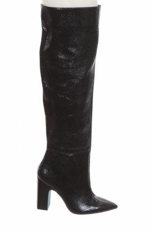 Dámské boty  Zara, Velikost 39, Barva Černá, Pravá kůže, Cena  996,00Kč