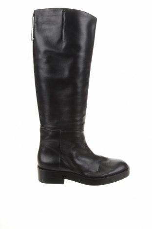 Dámské boty  Zara, Velikost 38, Barva Černá, Pravá kůže, Cena  757,00Kč