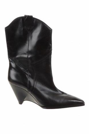 Dámské boty  Zara, Velikost 39, Barva Černá, Pravá kůže, Cena  1494,00Kč