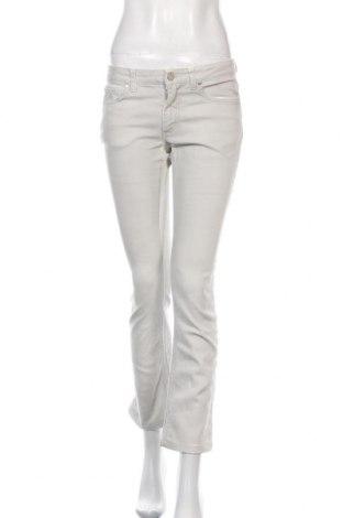 Дамски дънки Acne, Размер S, Цвят Сив, 79% памук, 19% полиестер, 2% еластан, Цена 46,06лв.