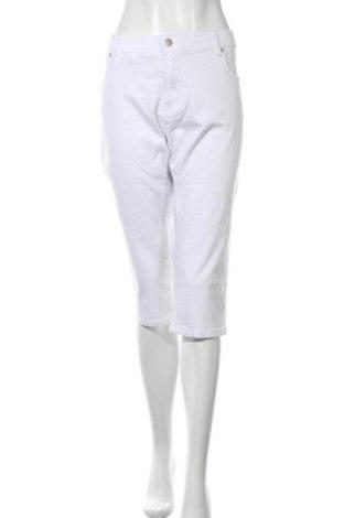 Дамски дънки Aniston, Размер XL, Цвят Бял, 98% памук, 2% еластан, Цена 25,18лв.