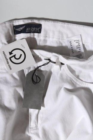 Дамски дънки Arizona, Размер L, Цвят Бял, 98% памук, 2% еластан, Цена 25,95лв.