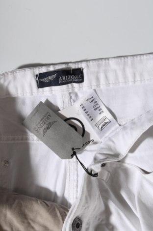 Дамски дънки Arizona, Размер XL, Цвят Бял, 98% памук, 2% еластан, Цена 25,95лв.