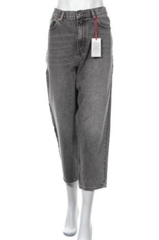 Дамски дънки BDG, Размер XL, Цвят Сив, Памук, Цена 74,25лв.