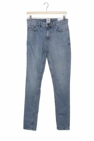 Дамски дънки BDG, Размер M, Цвят Син, 99% памук, 1% еластан, Цена 32,22лв.