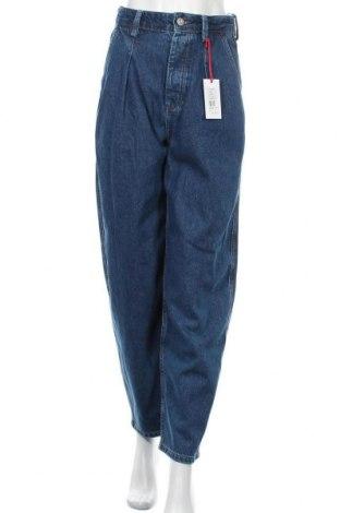 Дамски дънки BDG, Размер S, Цвят Син, 55% памук, 45% лиосел, Цена 41,30лв.