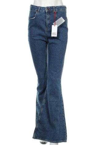 Дамски дънки BDG, Размер L, Цвят Син, 99% памук, 1% еластан, Цена 89,25лв.