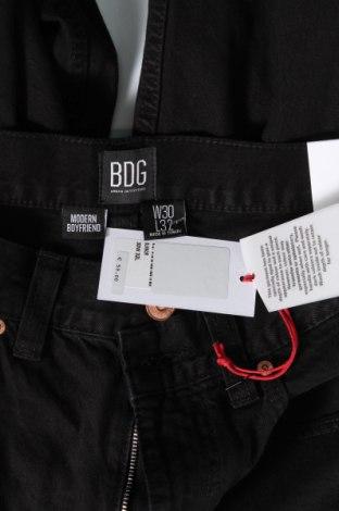 Дамски дънки BDG, Размер M, Цвят Черен, Памук, Цена 39,73лв.