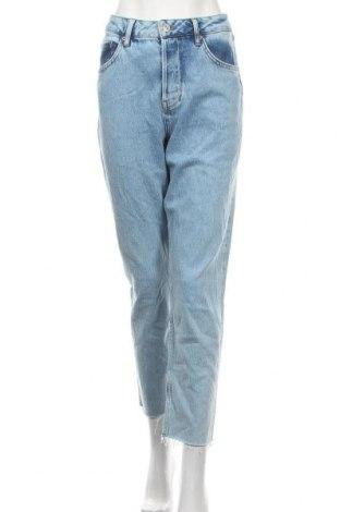 Blugi de femei BDG, Mărime L, Culoare Albastru, 99% bumbac, 1% elastan, Preț 93,82 Lei