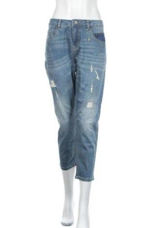 Γυναικείο Τζίν Cream, Μέγεθος L, Χρώμα Μπλέ, Τιμή 48,54€