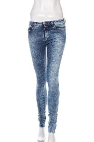 Dámské džíny  Diesel, Velikost S, Barva Modrá, 93% bavlna, 5% polyester, 2% elastan, Cena  593,00Kč
