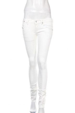 Dámské džíny  Diesel, Velikost S, Barva Bílá, 98% bavlna, 2% elastan, Cena  1570,00Kč