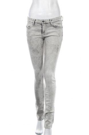 Γυναικείο Τζίν H&M Divided, Μέγεθος M, Χρώμα Γκρί, 79% βαμβάκι, 19% πολυεστέρας, 2% ελαστάνη, Τιμή 13,80€
