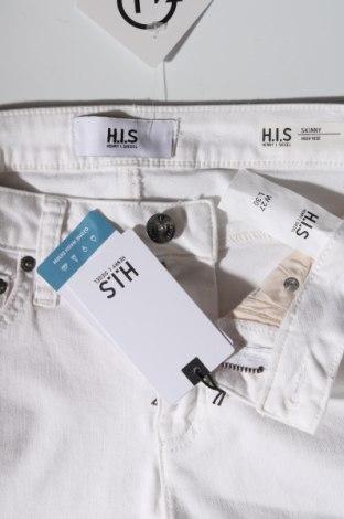 Дамски дънки Henry I. Siegel, Размер S, Цвят Екрю, 55% памук, 21% полиестер, 14% лиосел, 9% вискоза, 1% еластан, Цена 26,02лв.