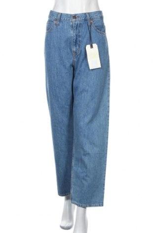 Дамски дънки Levi's, Размер L, Цвят Син, Памук, Цена 169,00лв.