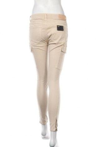 Дамски дънки Massimo Dutti, Размер M, Цвят Бежов, 61% памук, 36% лиосел, 3% еластан, Цена 40,33лв.