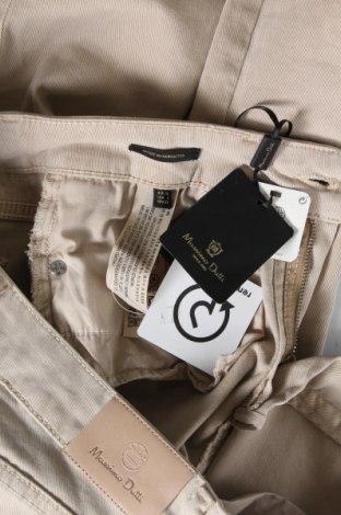 Дамски дънки Massimo Dutti, Размер S, Цвят Бежов, 61% памук, 36% лиосел, 3% еластан, Цена 40,33лв.