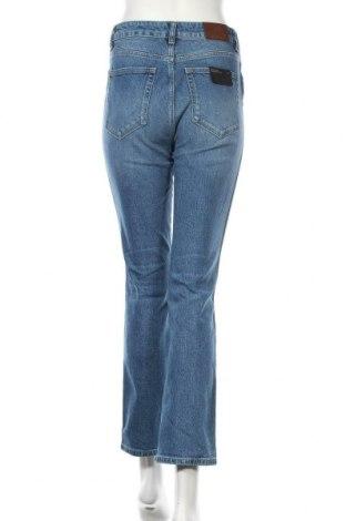 Дамски дънки Massimo Dutti, Размер S, Цвят Син, 99% памук, 1% еластан, Цена 52,51лв.
