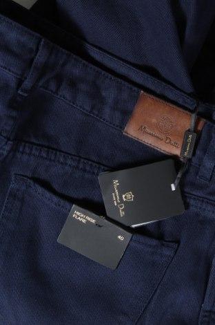 Дамски дънки Massimo Dutti, Размер M, Цвят Син, Памук, Цена 49,05лв.