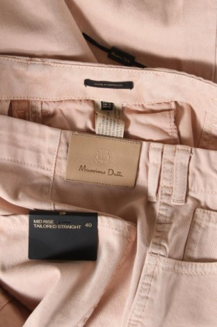 Дамски дънки Massimo Dutti, Размер M, Цвят Розов, Памук, Цена 39,16лв.