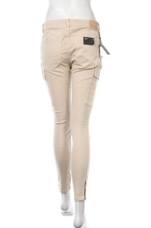 Дамски дънки Massimo Dutti, Размер L, Цвят Бежов, 61% памук, 36% лиосел, 3% еластан, Цена 40,33лв.