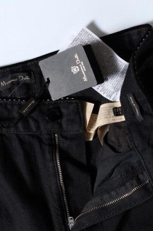 Дамски дънки Massimo Dutti, Размер M, Цвят Черен, Памук, Цена 31,53лв.