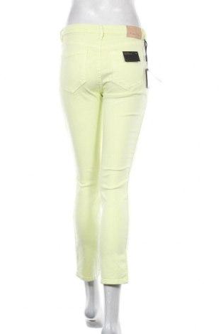 Дамски дънки Massimo Dutti, Размер S, Цвят Зелен, 98% памук, 2% еластан, Цена 22,00лв.