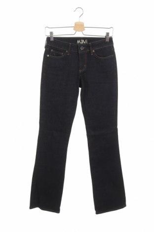 Дамски дънки Mavi, Размер XS, Цвят Син, 98% памук, 2% еластан, Цена 7,09лв.