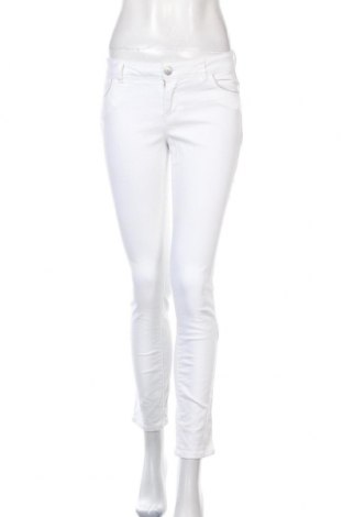 Дамски дънки Morgan, Размер XS, Цвят Бял, 98% памук, 2% еластан, Цена 9,48лв.