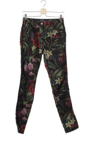 Дамски дънки Sa. Hara, Размер XS, Цвят Многоцветен, 67% памук, 30% полиестер, 3% еластан, Цена 8,82лв.