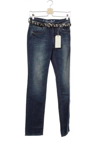Γυναικείο Τζίν Tom Tailor, Μέγεθος S, Χρώμα Μπλέ, 98% βαμβάκι, 2% ελαστάνη, Τιμή 22,94€