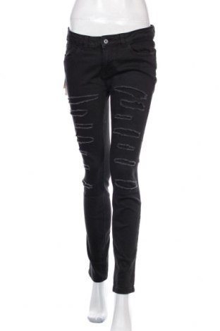 Γυναικείο Τζίν Tom Tailor, Μέγεθος M, Χρώμα Μαύρο, 98% βαμβάκι, 2% ελαστάνη, Τιμή 34,21€