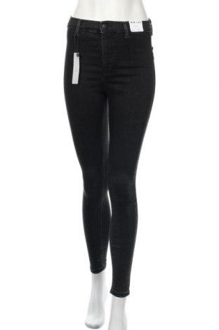 Γυναικείο Τζίν Topshop, Μέγεθος XS, Χρώμα Μαύρο, 71% βαμβάκι, 28% πολυεστέρας, 3% ελαστάνη, Τιμή 20,65€