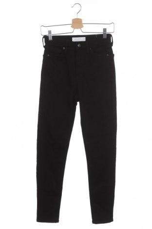 Dámské džíny  Topshop, Velikost S, Barva Černá, 90% bavlna, 7% polyester, 3% elastan, Cena  253,00Kč