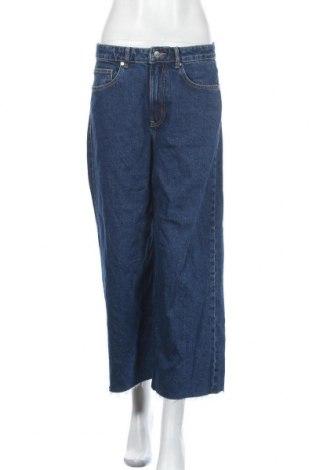 Dámské džíny  Zara, Velikost M, Barva Modrá, Bavlna, Cena  480,00Kč