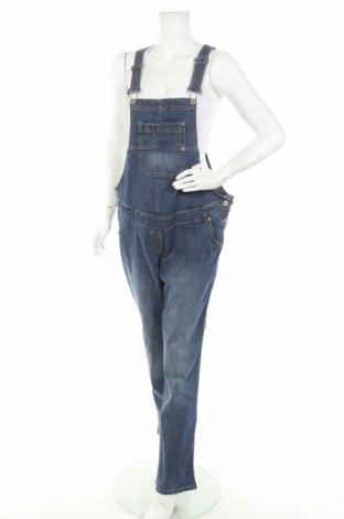 Γυναικεία τζίν σαλοπέτα Yessica, Μέγεθος XL, Χρώμα Μπλέ, 98% βαμβάκι, 2% ελαστάνη, Τιμή 15,10€