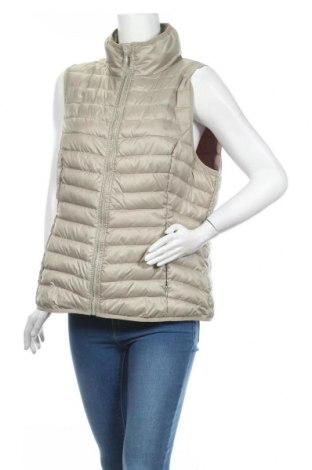 Γυναικείο γιλέκο Miss Etam, Μέγεθος XL, Χρώμα  Μπέζ, Πολυεστέρας, Τιμή 18,19€