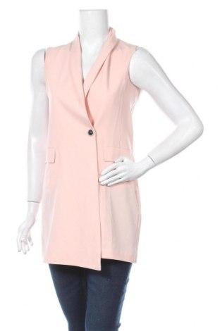 Dámská vesta  Moe, Velikost S, Barva Růžová, 65% polyester, 30% viskóza, 5% elastan, Cena  321,00Kč