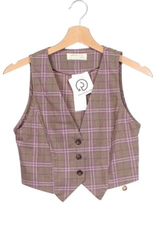 Дамски елек Urban Outfitters, Размер XS, Цвят Многоцветен, 63% полиестер, 34% вискоза, 3% еластан, Цена 45,82лв.