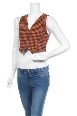 Дамски елек Urban Outfitters, Размер S, Цвят Оранжев, 63% полиестер, 34% вискоза, 3% еластан, Цена 40,02лв.