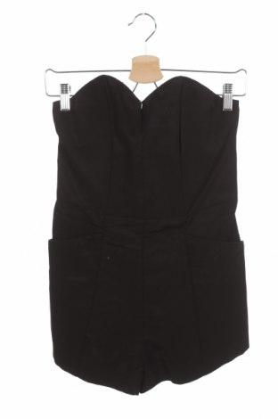 Дамски гащеризон H&M Conscious Collection, Размер S, Цвят Черен, 70% памук, 30% полиестер, Цена 22,05лв.