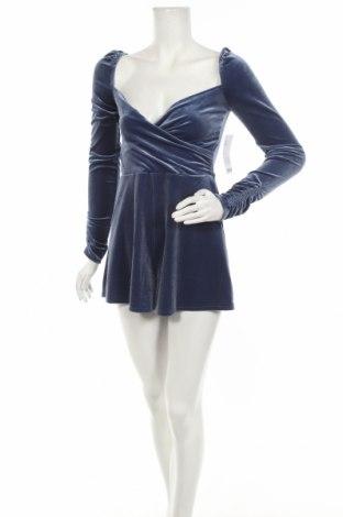 Γυναικεία σαλοπέτα Urban Outfitters, Μέγεθος S, Χρώμα Μπλέ, 90% πολυεστέρας, 10% ελαστάνη, Τιμή 38,27€