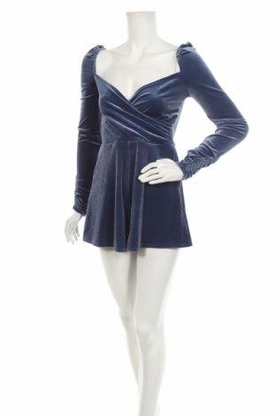 Γυναικεία σαλοπέτα Urban Outfitters, Μέγεθος S, Χρώμα Μπλέ, 90% πολυεστέρας, 10% ελαστάνη, Τιμή 36,34€