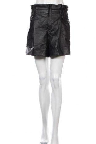 Dámské krátké kožené kalhoty  Zara, Velikost M, Barva Černá, Eko kůže, Cena  710,00Kč