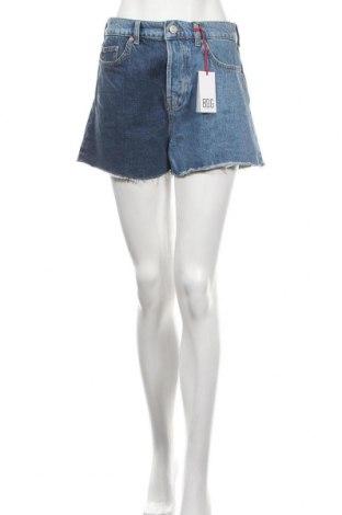 Дамски къс панталон BDG, Размер M, Цвят Син, Памук, Цена 48,00лв.